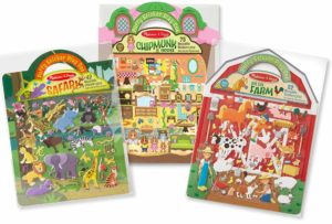 melissa and doug resuable stickers travel