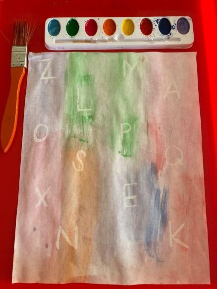 secret letters alphabet activity for kids