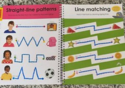 tracing lines fine motor activity