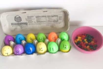 number egg counting activity