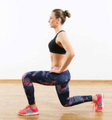 lunge excercise