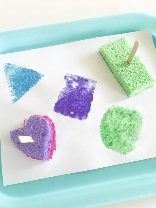shape sponges