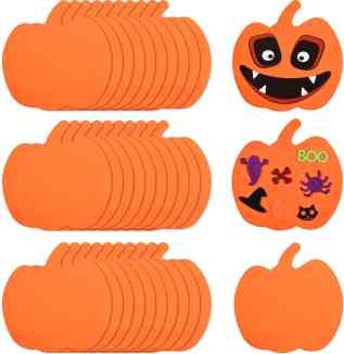foam pumpkins