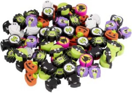 mini erasers halloween