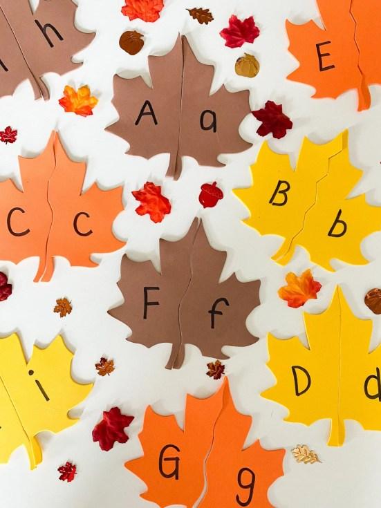 leaf letter match