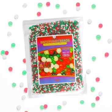 christmas water marbles