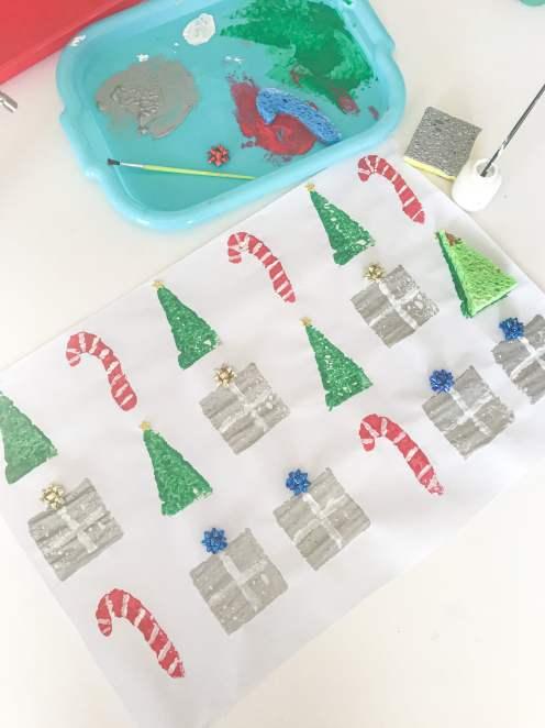christmas shape patterns