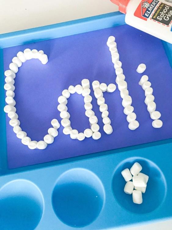 marshmallow name building