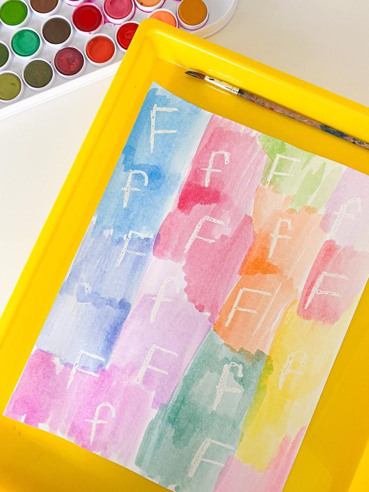 letter f secret letters