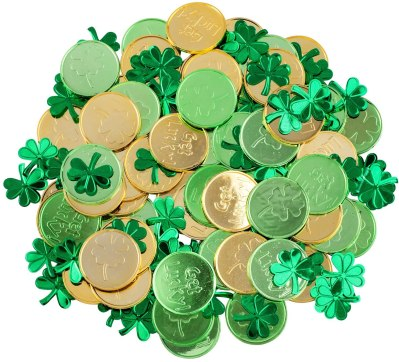 coins st patricks day