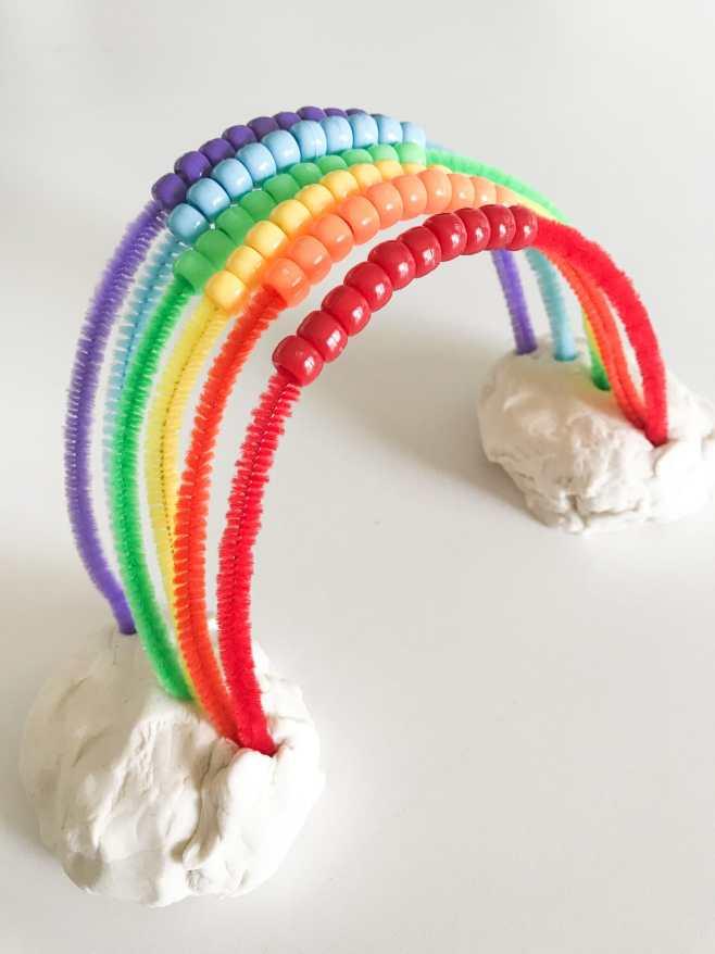 DIY Rainbow Abacus