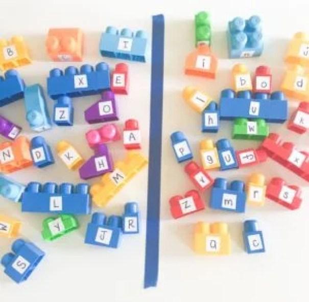 alphabet block match up