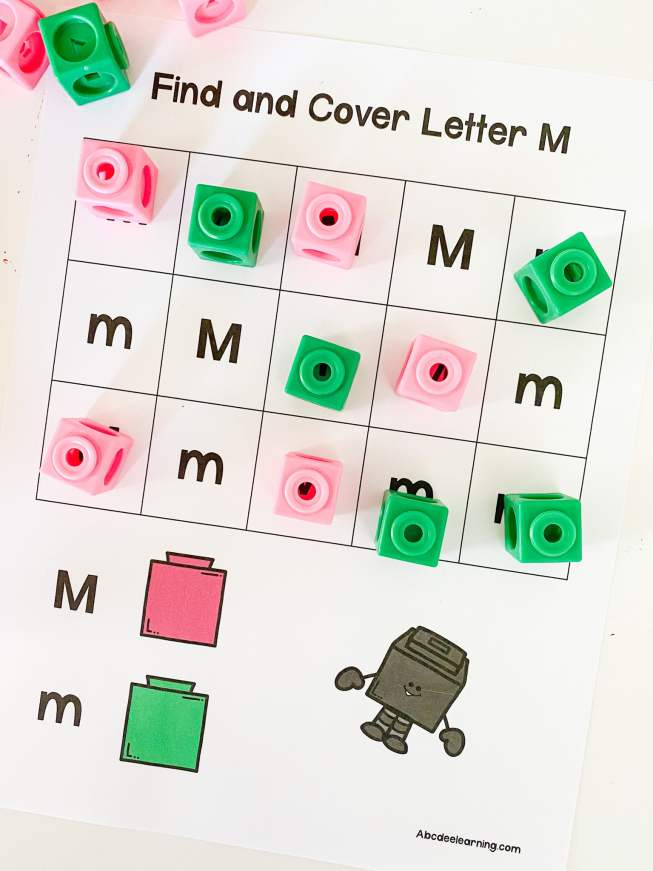 find and cover letters