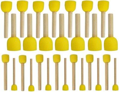 circle paint brushes