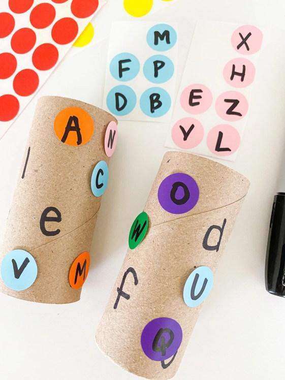 TP alphabet letters