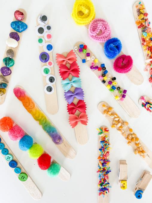 tactile sticks