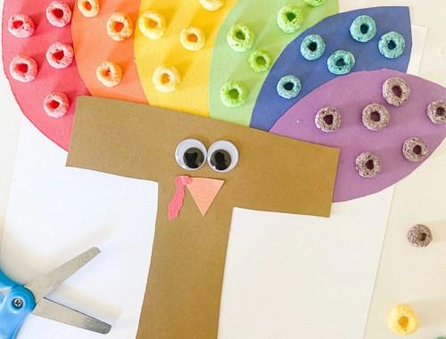 letter t turkey collage