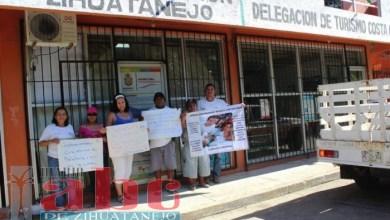 Photo of Siguen protestando trabajadores de la Promotora de Playas