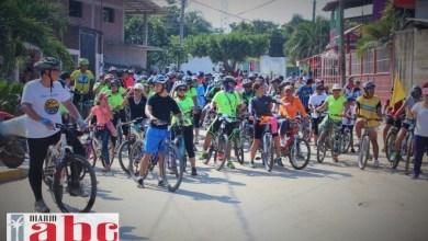 Photo of Un éxito la primera rodada ciclista de El Coaocoyul