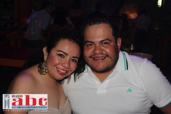 Angelica y Jose ellos siempre muy sonrientes.