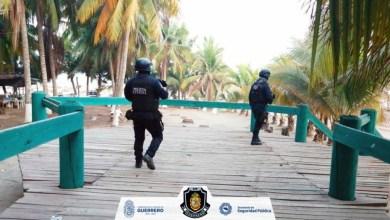 Photo of Permanece resguardo de la Policía Estatal en Playa Linda y zona comercial de Zihuatanejo