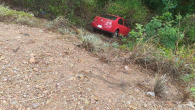 Photo of Vehículo sufre volcadura en Buenavista; deja solo daños materiales