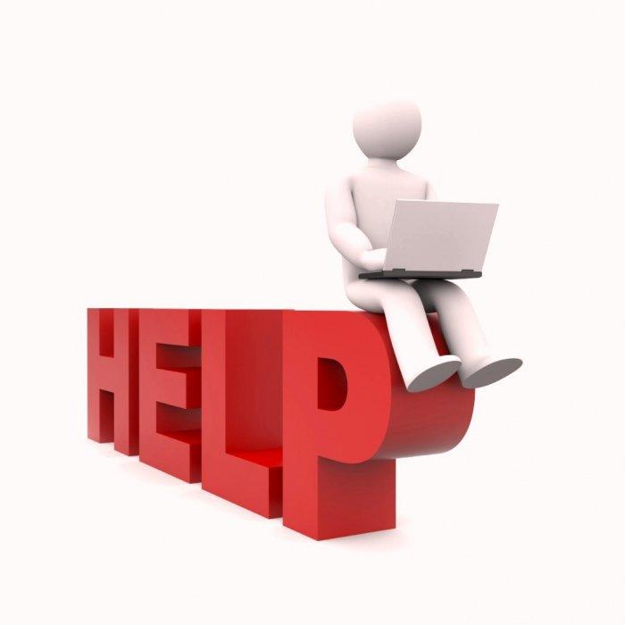 Online Hjælp.