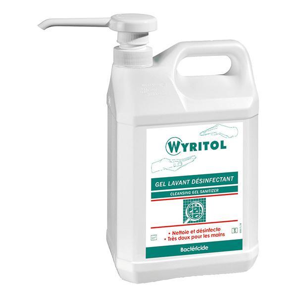 Wyritol Nettoyant Dsinfectant Sols Et Surfaces 5 Lit