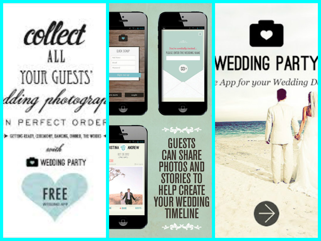 Startup monday wedding party san francisco event planning the perfect app for your wedding is wedding party which allows guests to share the photos of your big day in one easy location let the party begin junglespirit Images