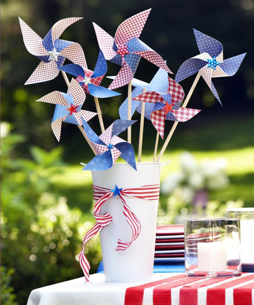 Festive Pinwheels for the 4th