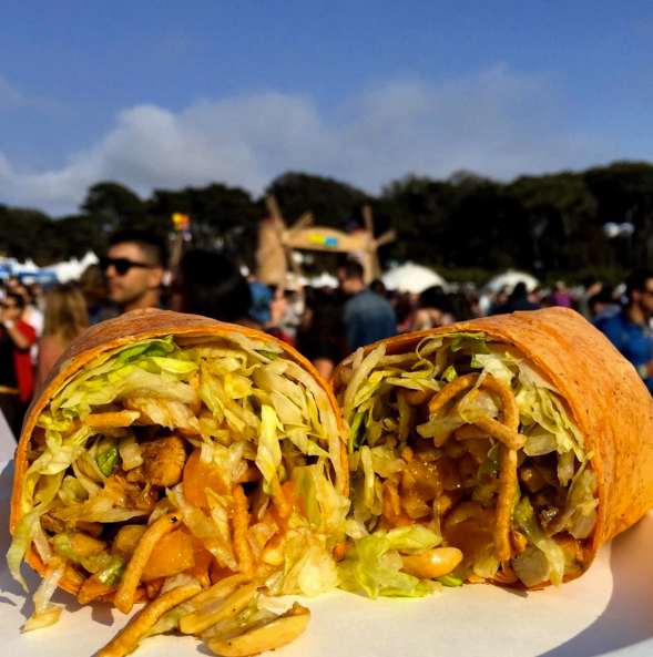 Outside lands Food