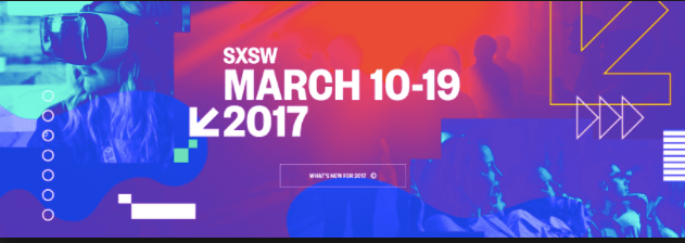 Top 15 Conferences 2017 SXSW