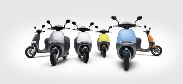 Gogoro scooter collection