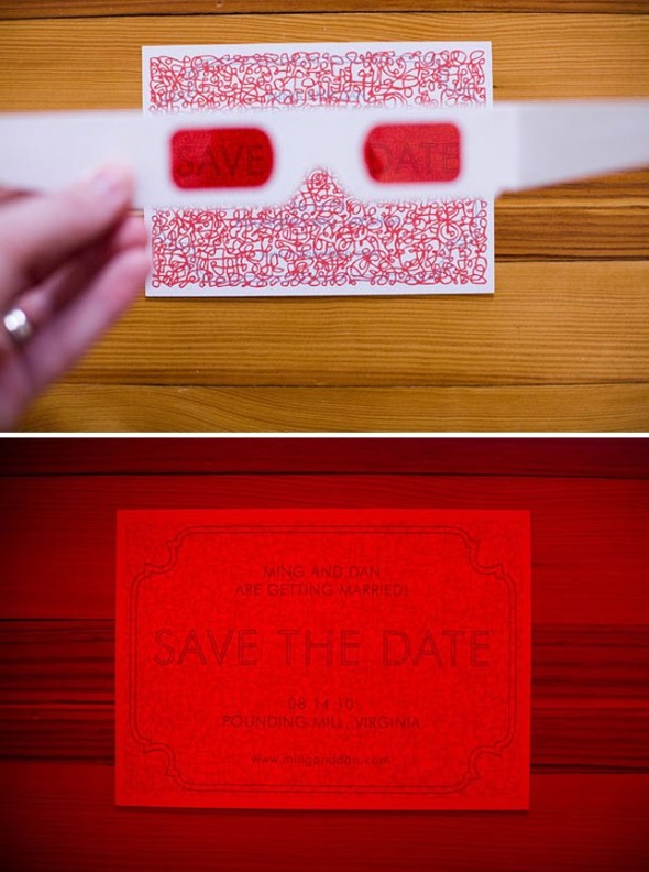 DIY Decoder Invitations