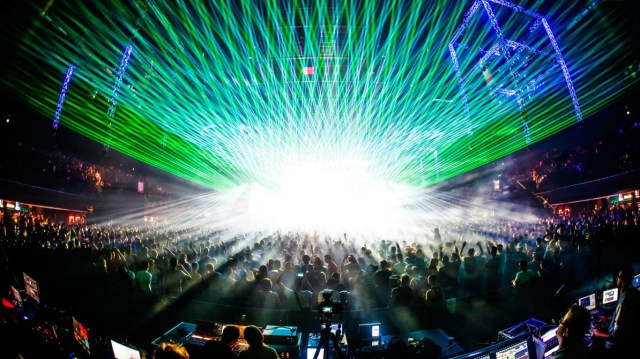 Trends in Projection Mapping & Lighting: Lasers