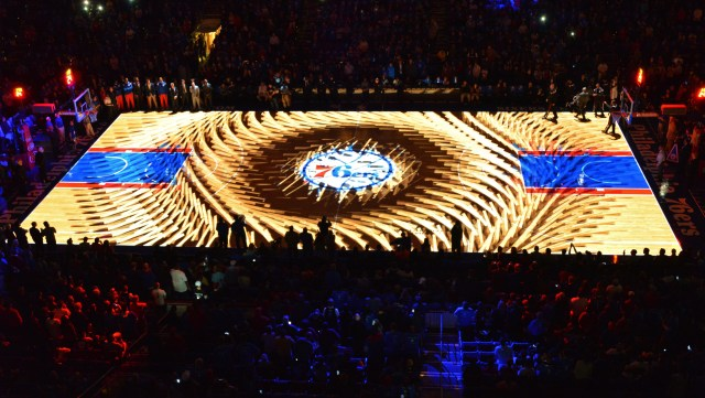 Trends in Projection Mapping & Lighting: Sports Arena Projection Lighting