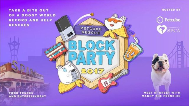 ABCey's Weekend Lineup Petcube Block Party