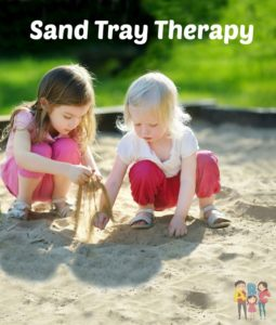 Sand Tray therapy is used for children to express themselves in a nonverbal way. Playing is very natural to children and can assist the psyche's ability to naturally heal.