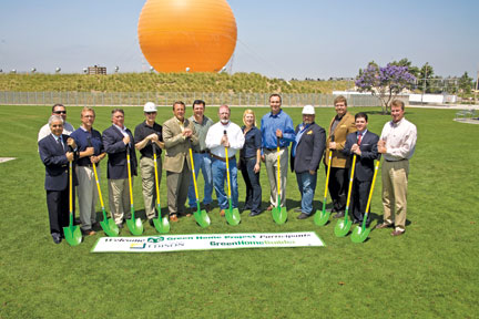 ABC green home Breaks Ground picture
