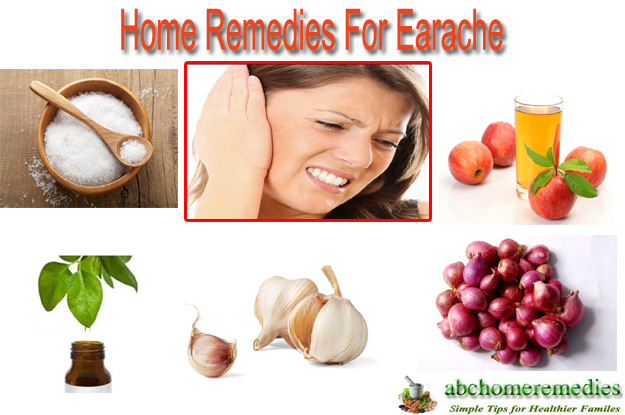 Home Remedies For Earache