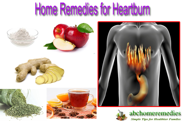 Home Remedies for Heartburn