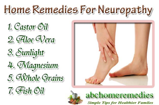 Home Remedies For Neuropathy