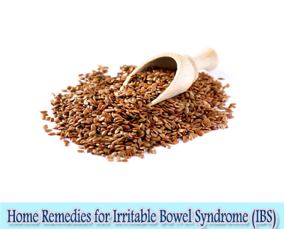 Flaxseed : Home Remedies for Irritable Bowel Syndrome (IBS)