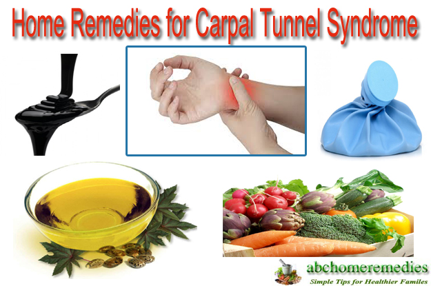 Home Remedies for Carpal Tunnel Syndrome