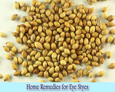 Coriander Seeds : Home Remedies for Eye Styes