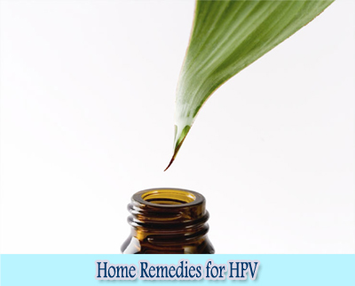 Tea Tree Oil : Home Remedies for HPV