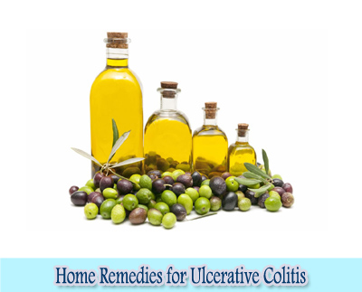 Olive Oil : Home Remedies for Ulcerative Colitis