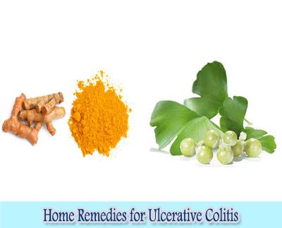 Turmeric & Gingko biloba : Home Remedies for Ulcerative Colitis