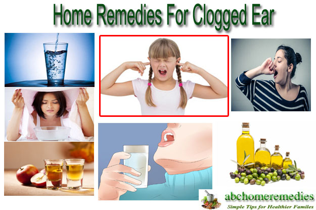 Home Remedies For Clogged Ear