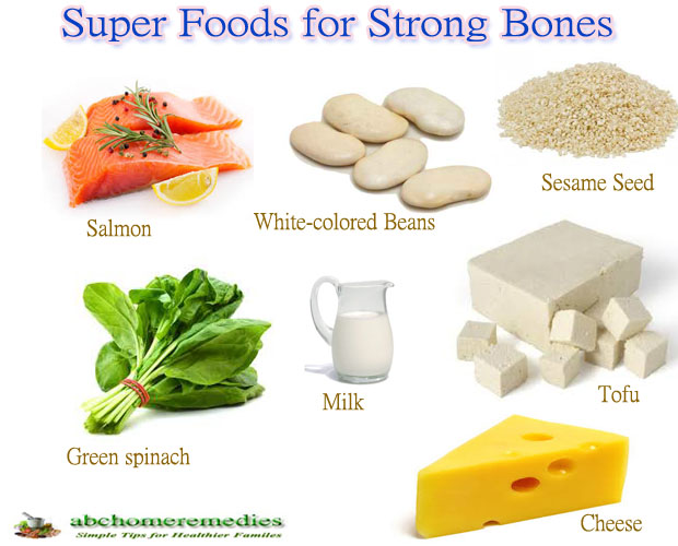 Top Ten Super Foods for Strong Bones